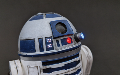 Weathered R2-D2