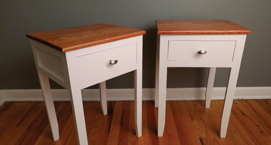 Recycled nightstands